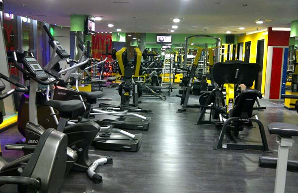 Gym at Dubai Marina