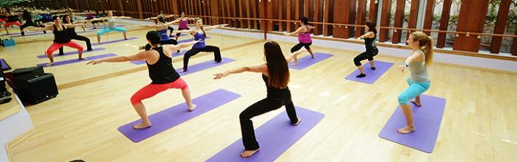 Yoga classes in Dubai
