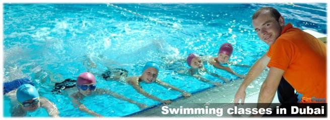 Swimming classes in Dubai